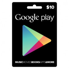Google Play $10 US Gift Card
