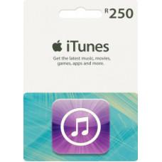 R 250 SA iTunes Voucher