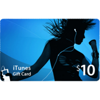 $10 USA iTunes Gift Card
